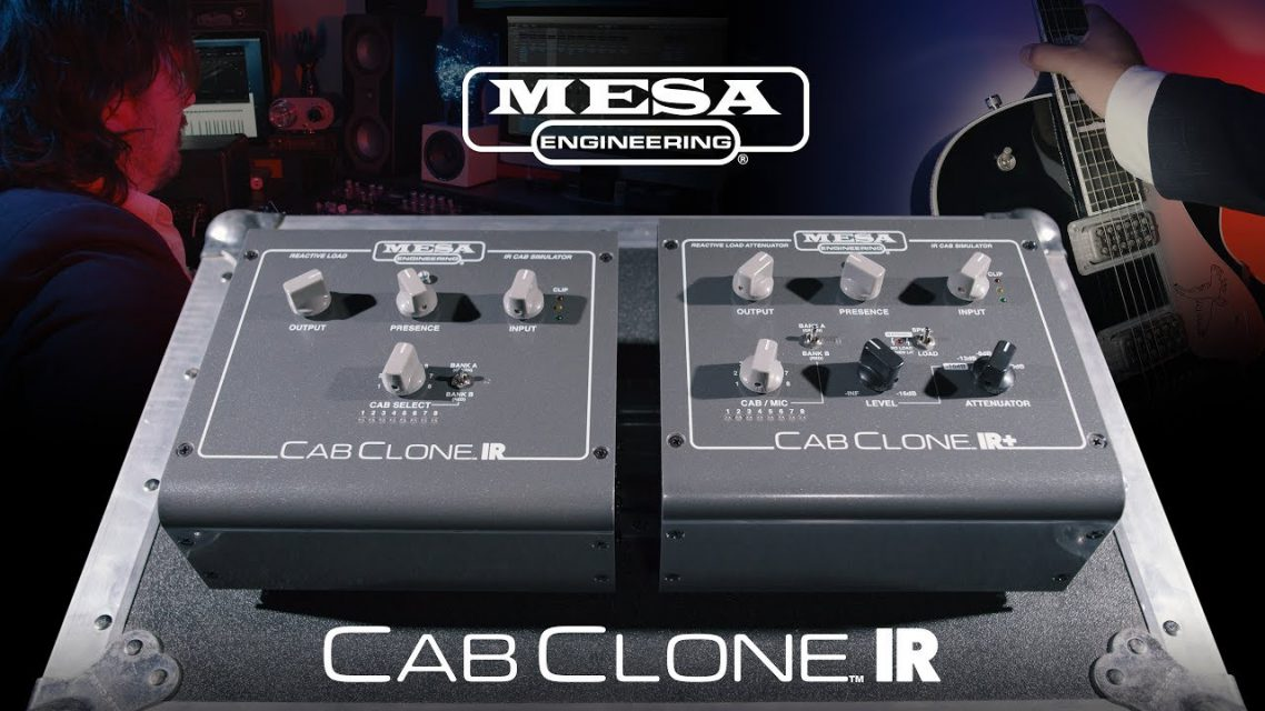 MESA/Boogie新製品Cab Clone IRキャビネットシミュレーターが国内販売開始!