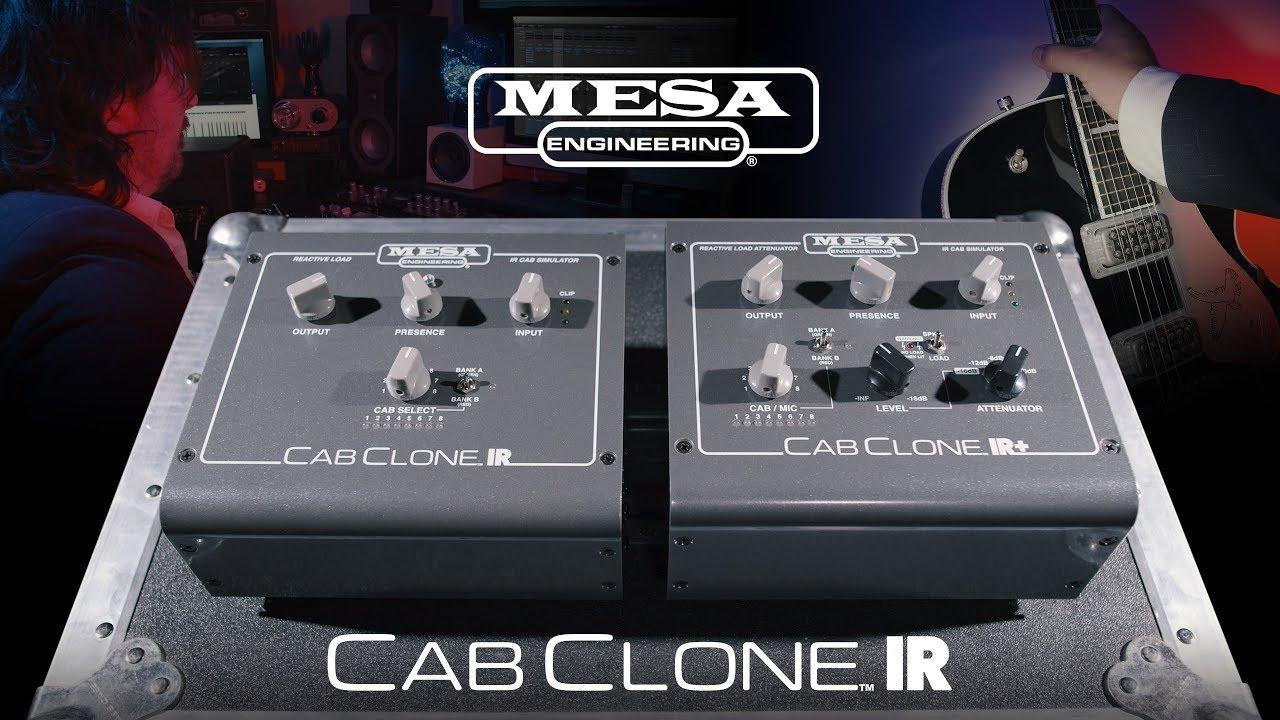 MESA/Boogie キャビネットシミュレーター新製品Cab Clone IR+入荷しました