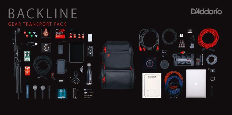 D'Addario新製品 Backline Gear Transport Pack