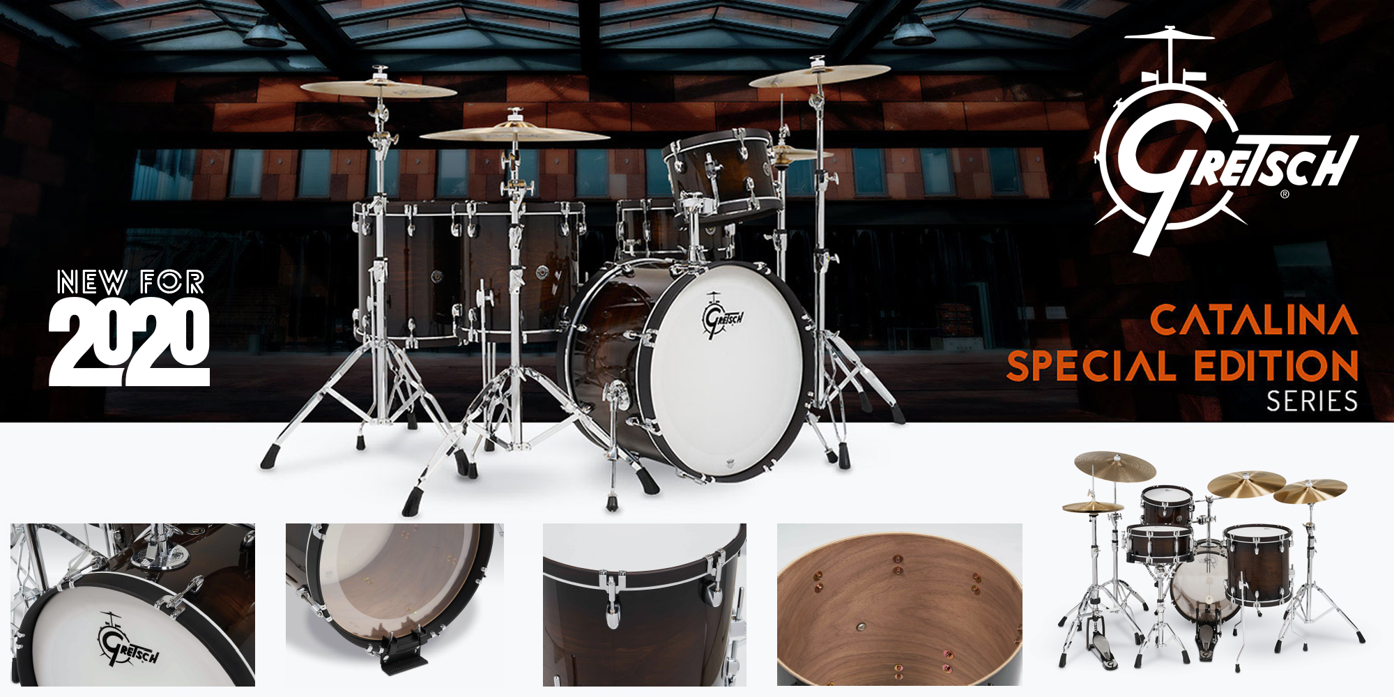 【Gretsch Drums】2020年限定 Catalina Special Edition