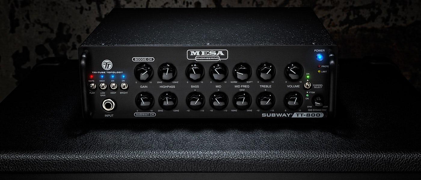 MESA/Boogie ベースアンプ新製品Subway TT-800を発表!