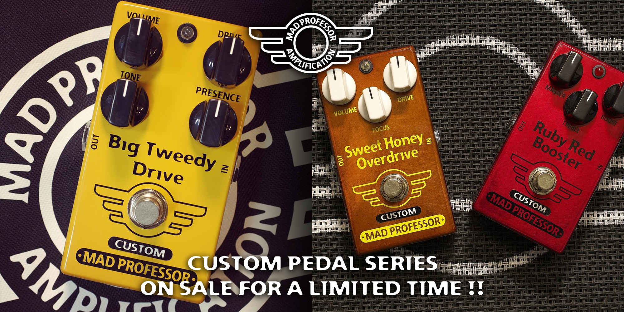 Mad Professor Custom Pedal Series