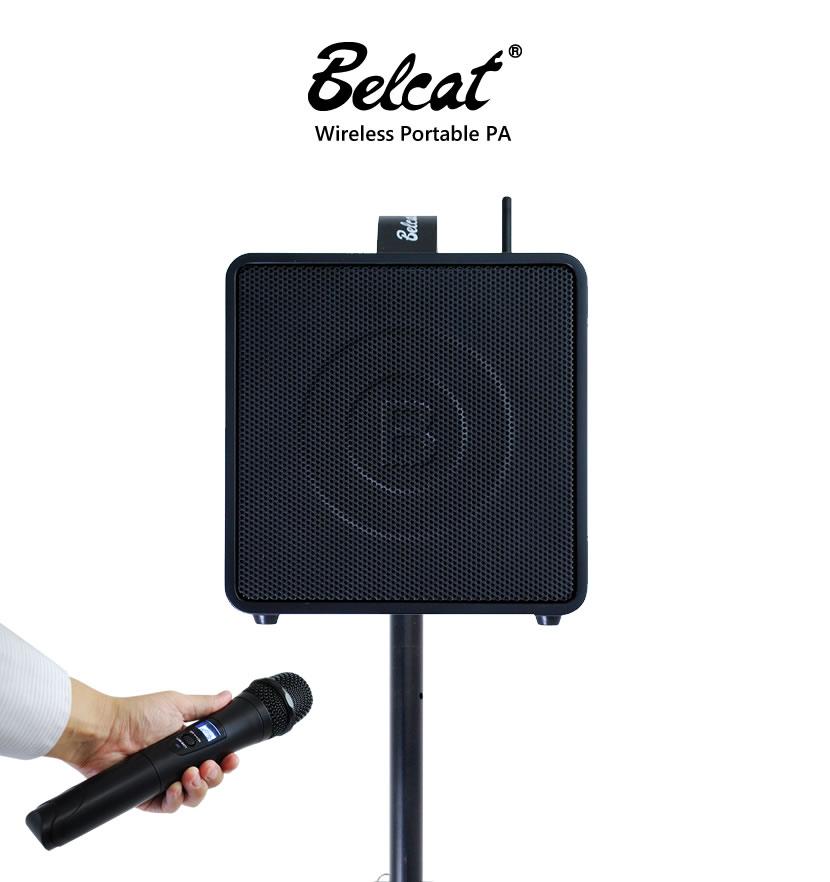 Belcat新製品 コンパクトなワイヤレス PAアンプ BWPAシリーズ登場!