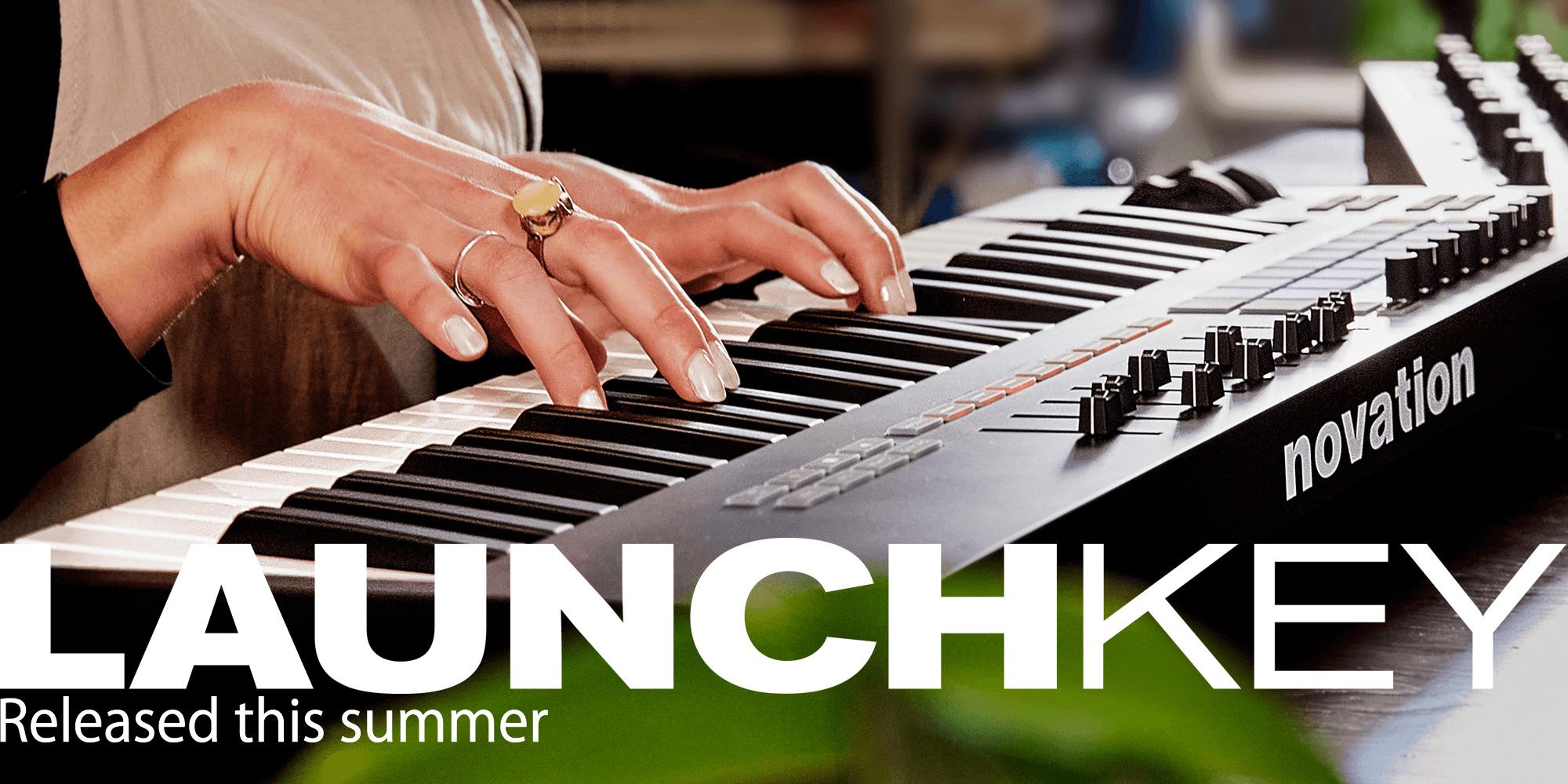 Novation MIDIキーボード新製品 LAUNCH KEY MK3を発表!