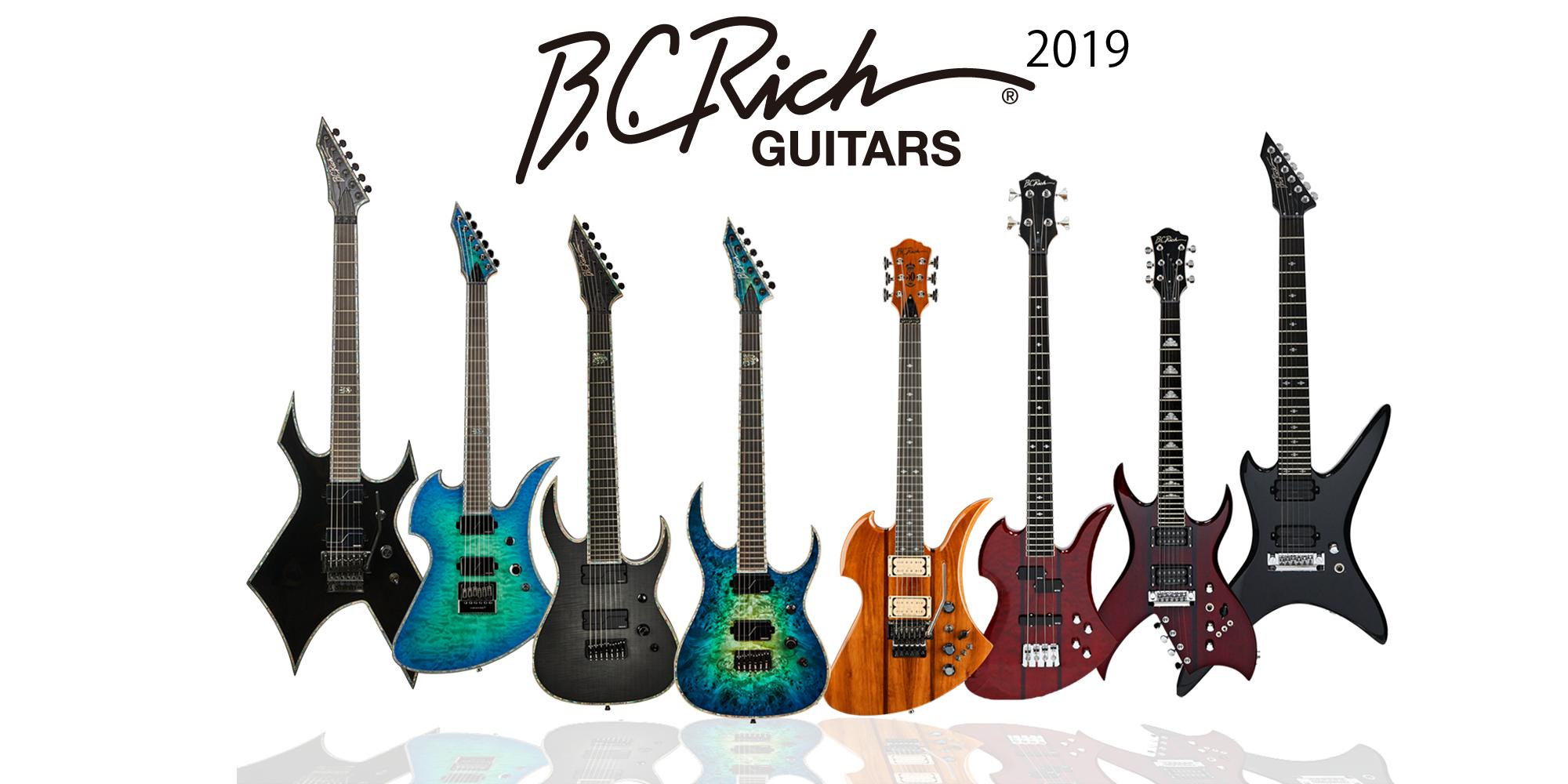 B.C.Rich 2019  発売開始のご案内