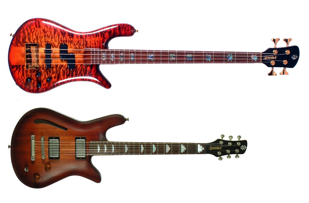 Spector® USAのベースとギターがスミソニアン博物館に!!!!